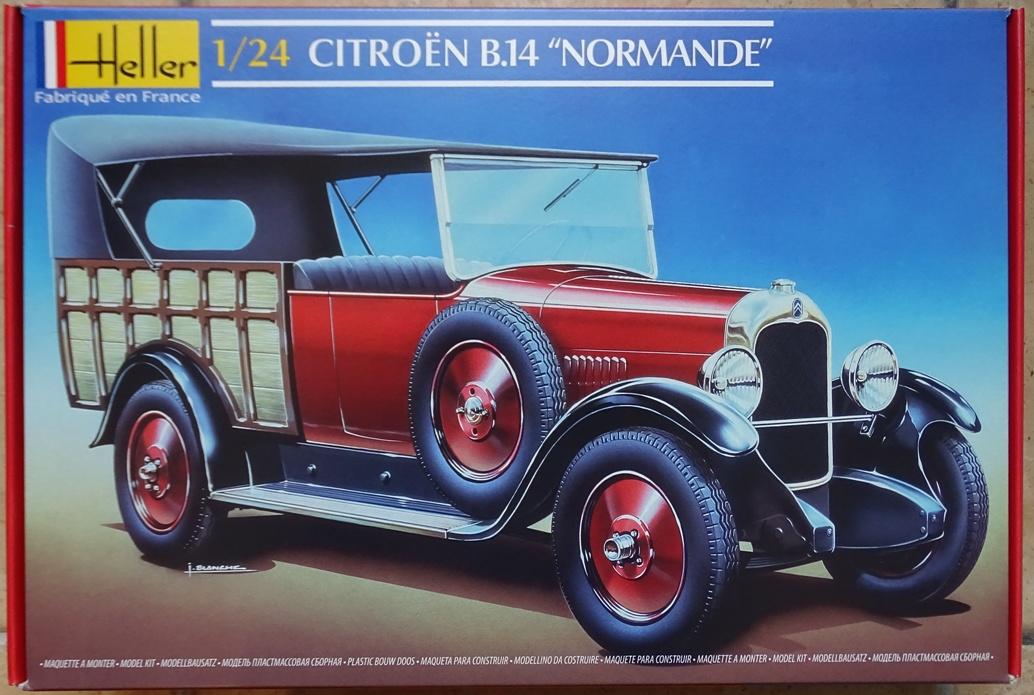 """[1/24] Citroën B14 """"normande"""" réf.80729 B14-box"""