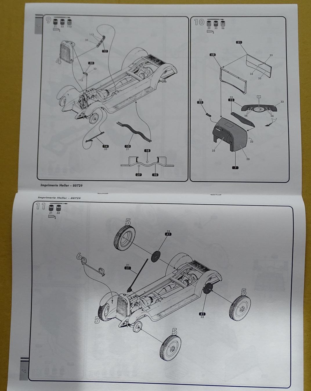 """[1/24] Citroën B14 """"normande"""" réf.80729 B14-plan-3"""