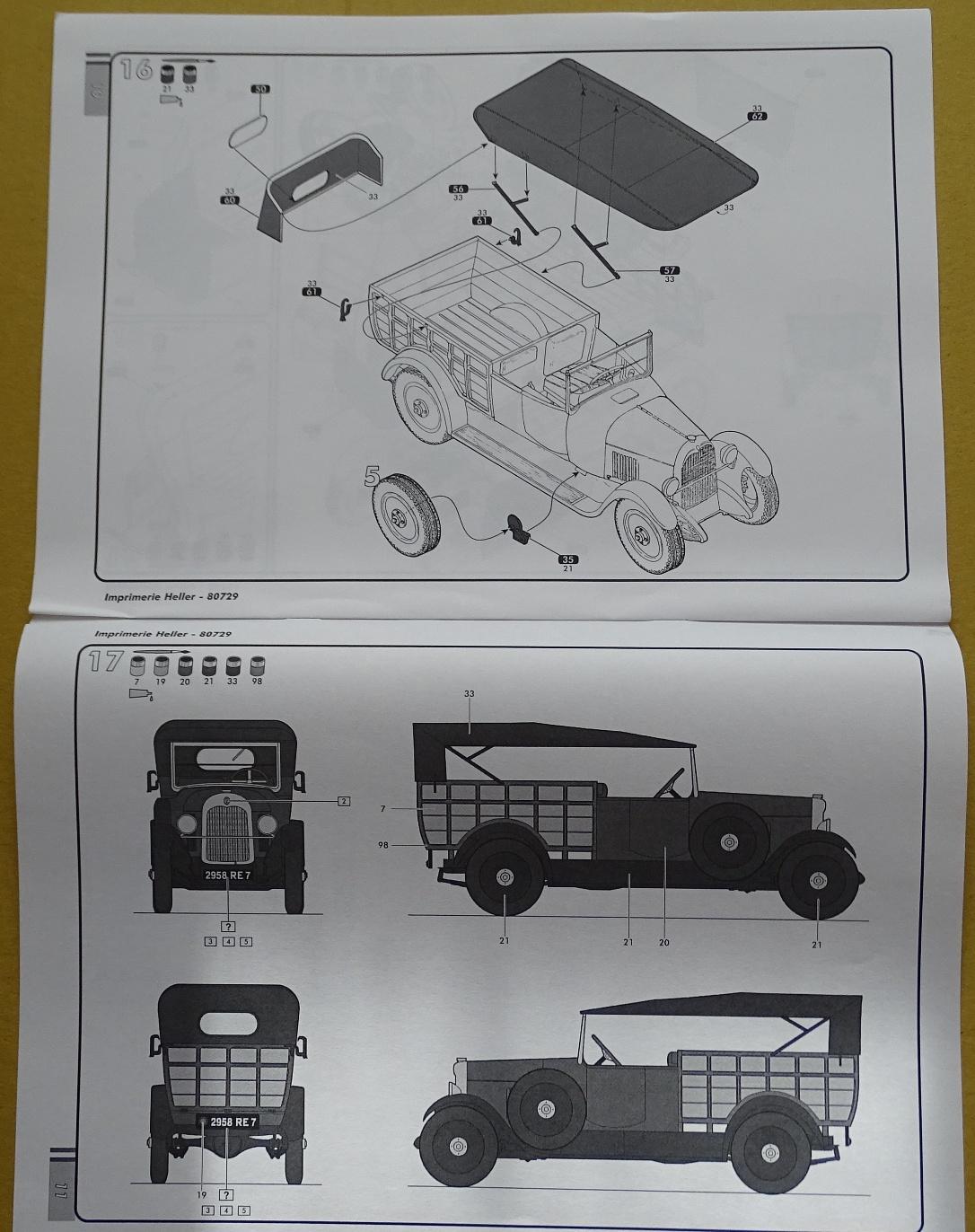 """[1/24] Citroën B14 """"normande"""" réf.80729 B14-plan-5"""