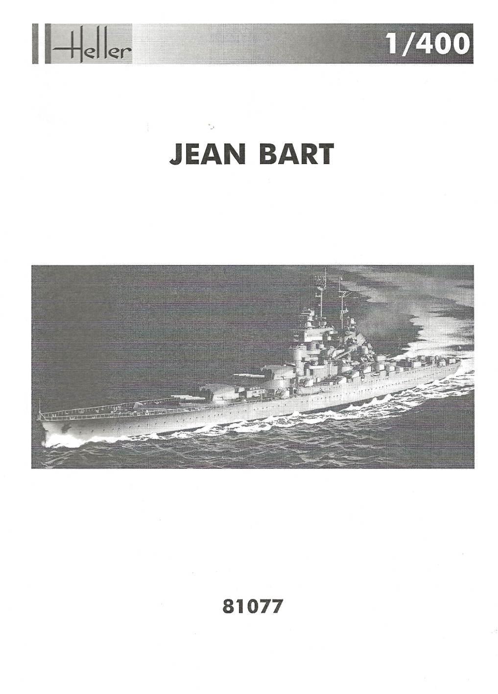 Cuirassé JEAN BART Réf 81077 JB-pl1