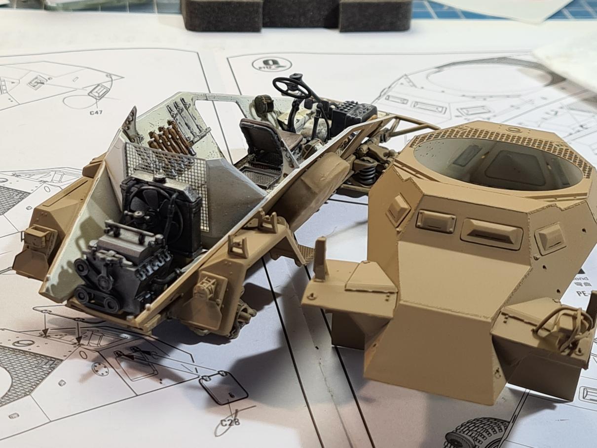 [Hobby Boss 1/35°] Sd.Kfz. 222 Leichter Panzerspähwagen - Page 2 222-0505-6
