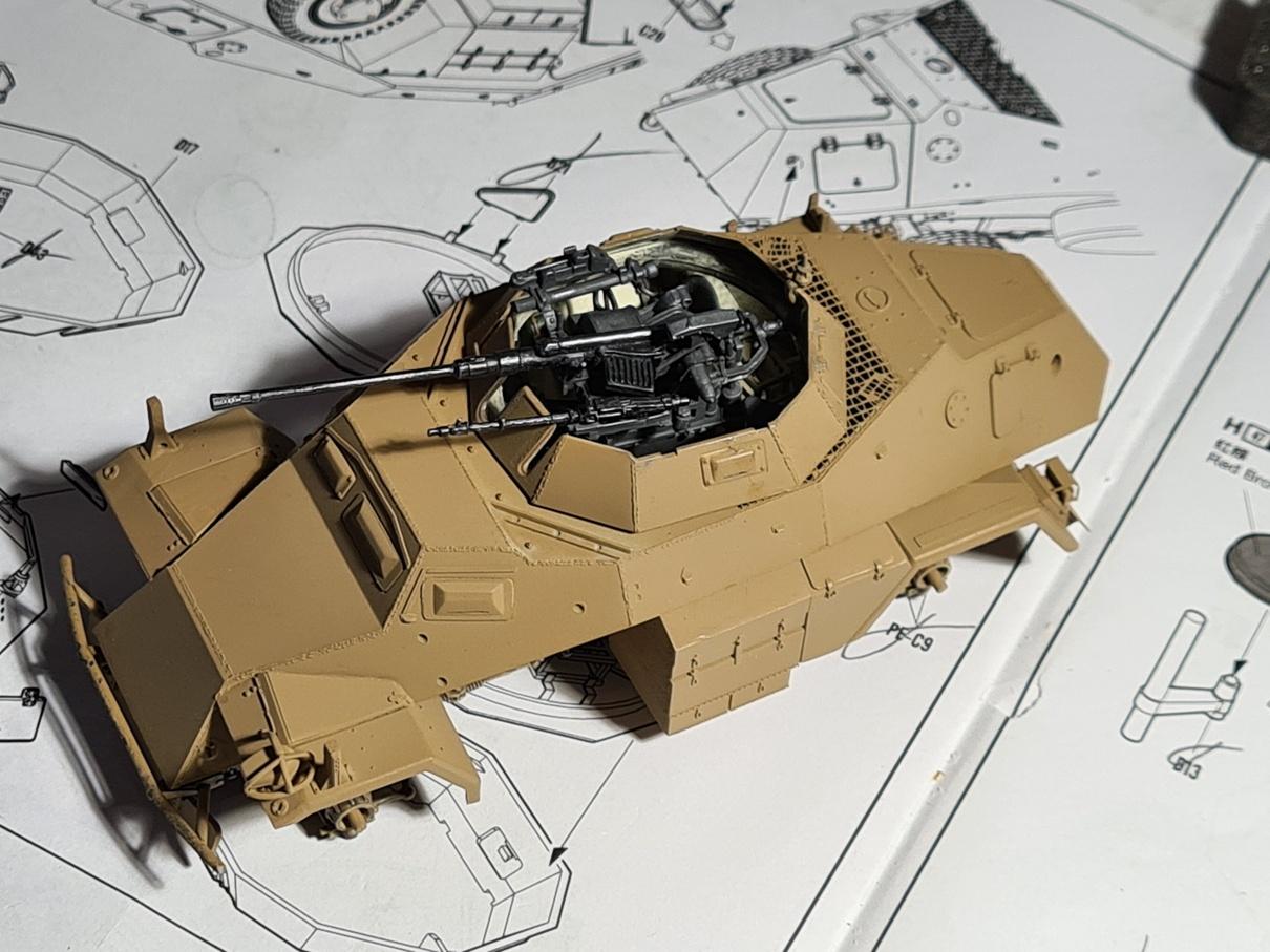 [Hobby Boss 1/35°] Sd.Kfz. 222 Leichter Panzerspähwagen - Page 2 222-0905-4