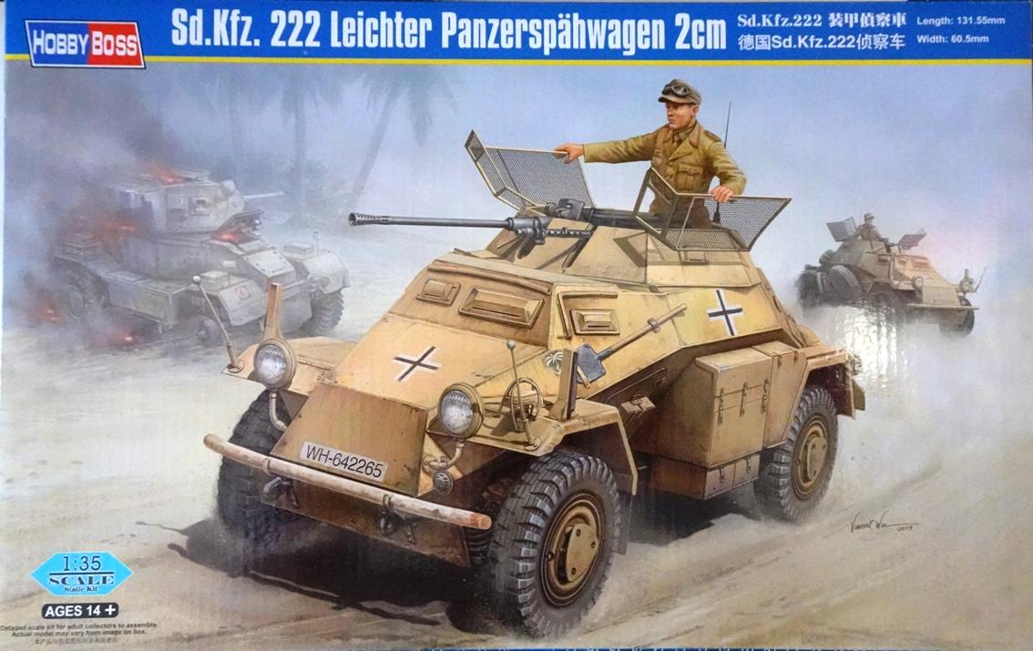 [Hobby Boss 1/35°] Sd.Kfz. 222 Leichter Panzerspähwagen 222-box