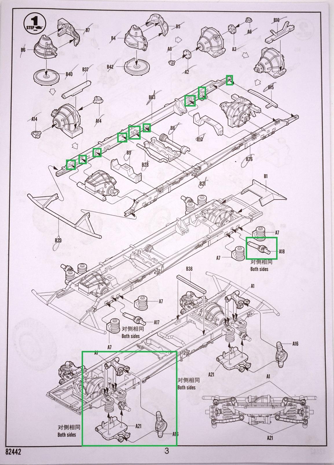 [Hobby Boss 1/35°] Sd.Kfz. 222 Leichter Panzerspähwagen 222-plchassis