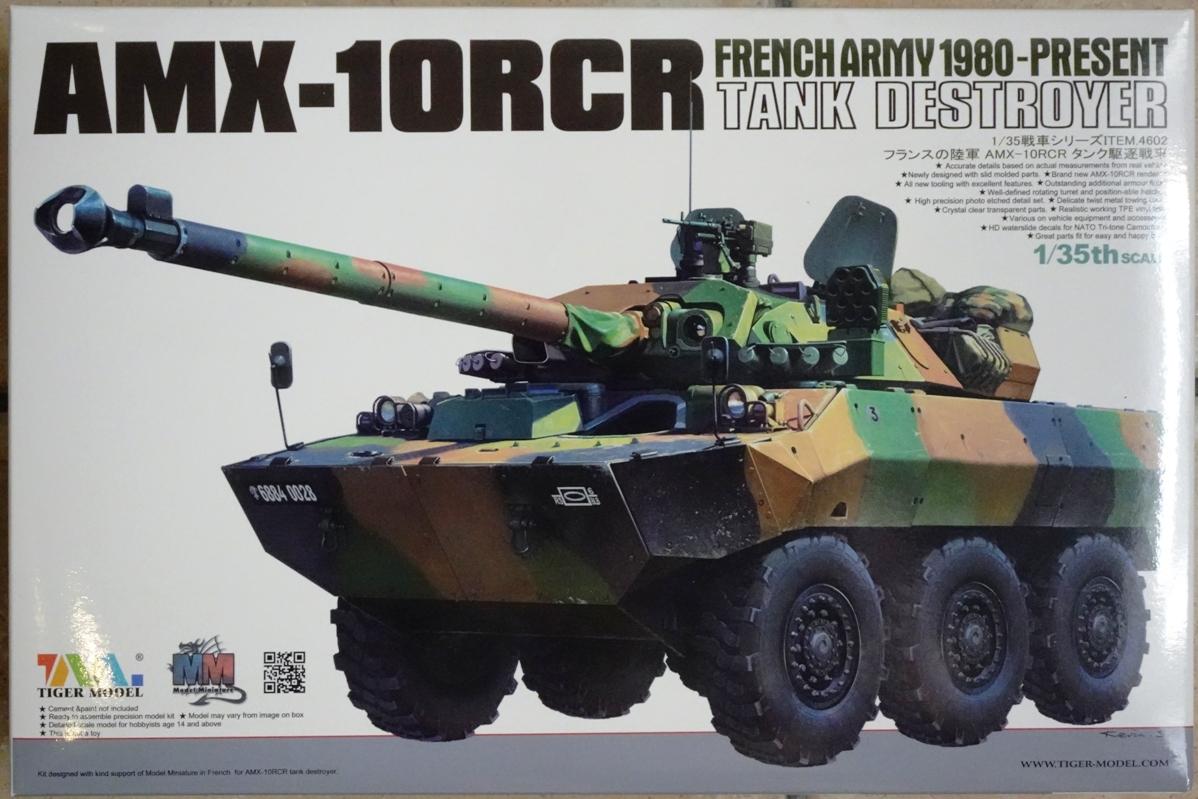 [Tiger Model] AMX-10RCR réf. 4602 - 1/35 Amx10-boite