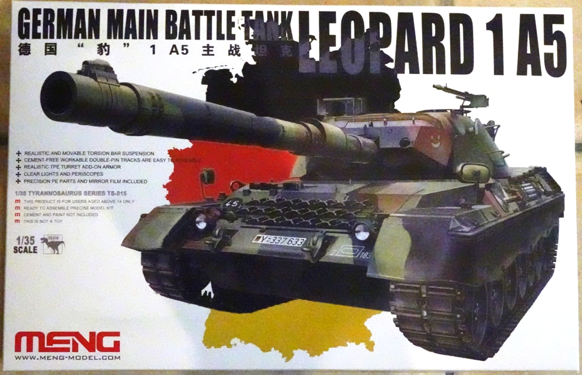 [Meng 1/35] Leopard 1 A5 LEO1-boite