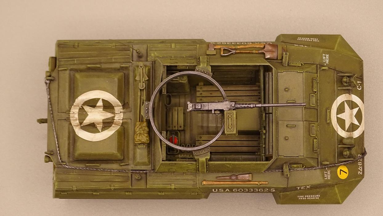"""[Tamiya 1/35] M20 """"Armored Utility Car"""" M20-1"""