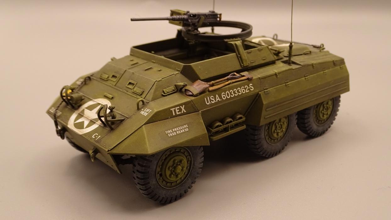 """[Tamiya 1/35] M20 """"Armored Utility Car"""" M20-2"""