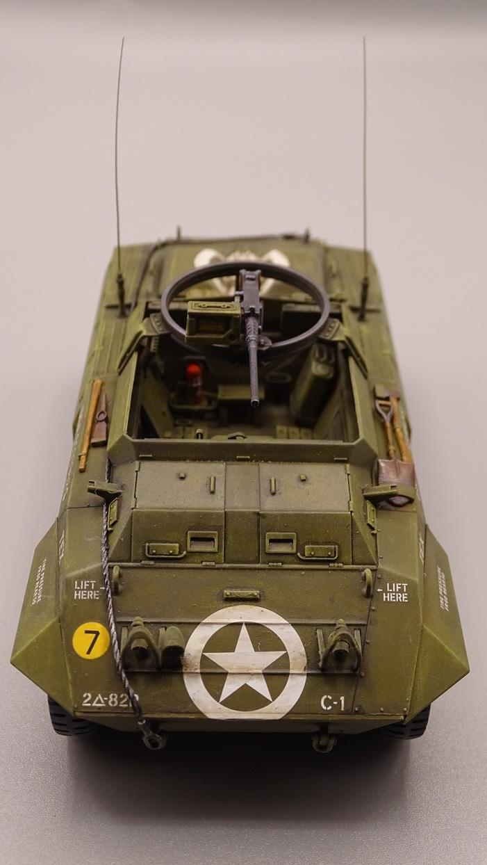 """[Tamiya 1/35] M20 """"Armored Utility Car"""" M20-3"""