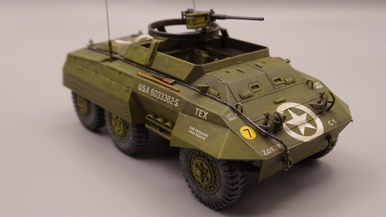 """[Tamiya 1/35] M20 """"Armored Utility Car"""" M20-4"""