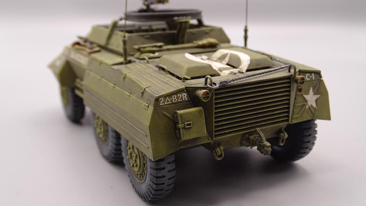 """[Tamiya 1/35] M20 """"Armored Utility Car"""" M20-5"""
