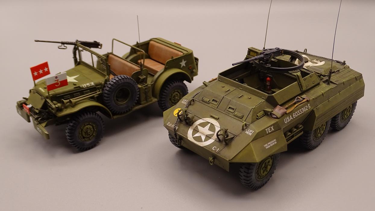"""[Tamiya 1/35] M20 """"Armored Utility Car"""" M20-7"""