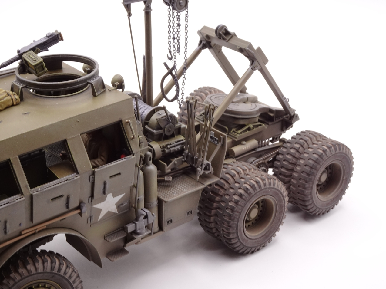 [Tamiya 1/35] M26 Armored tank recovery vehicle réf. 35244 - Page 4 M26-fin-7