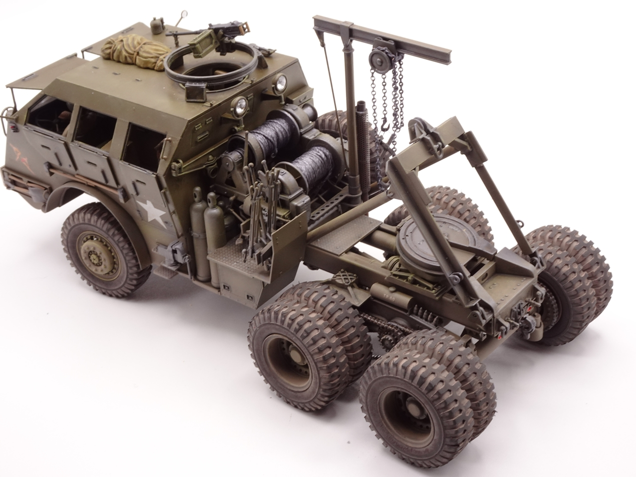 [Tamiya 1/35] M26 Armored tank recovery vehicle réf. 35244 - Page 4 M26-fin-8