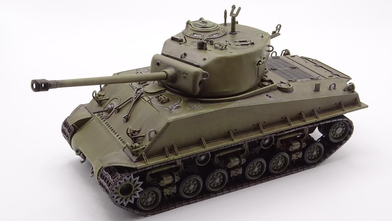 [Tamiya 1/35] Sherman M4A3E8 - Terminé - Page 3 M4A3-finprov-2