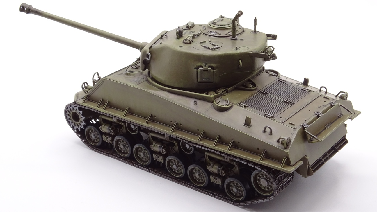 [Tamiya 1/35] Sherman M4A3E8 - Terminé - Page 3 M4A3-finprov-3