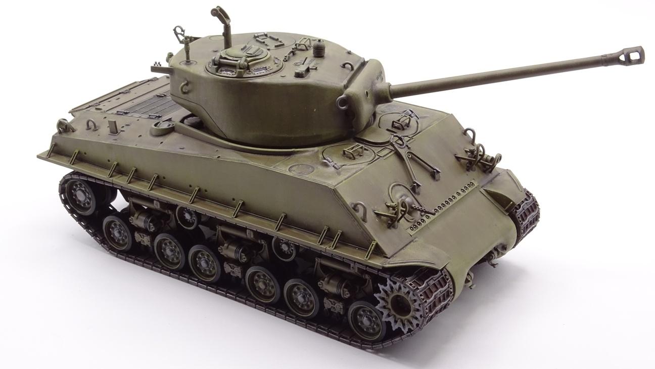 [Tamiya 1/35] Sherman M4A3E8 - Terminé - Page 3 M4A3-finprov-5