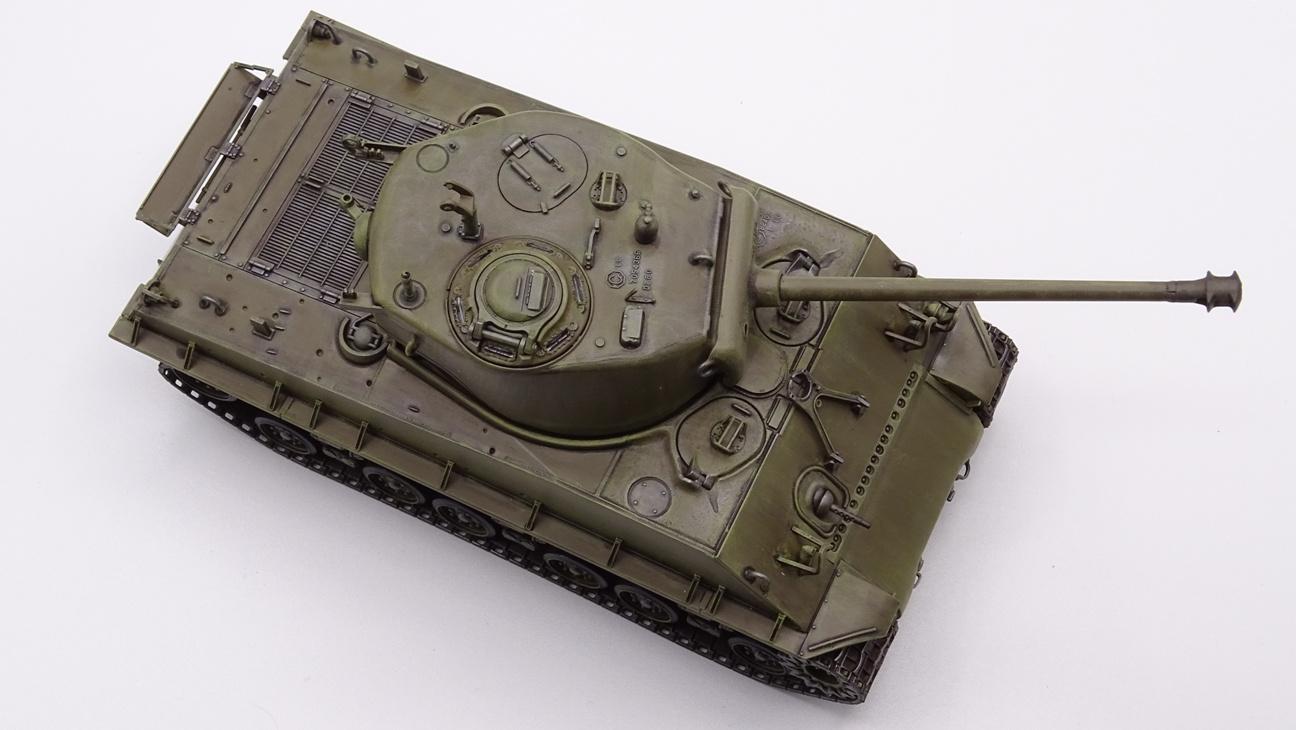 [Tamiya 1/35] Sherman M4A3E8 - Terminé - Page 3 M4A3-finprov-6