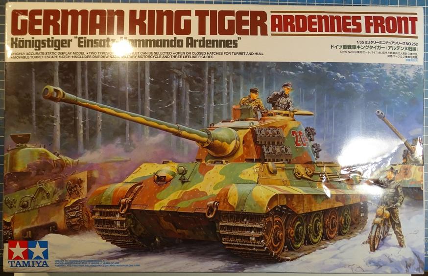[Tamiya 1/35°] Königstiger Ardennes 1944 KT-box