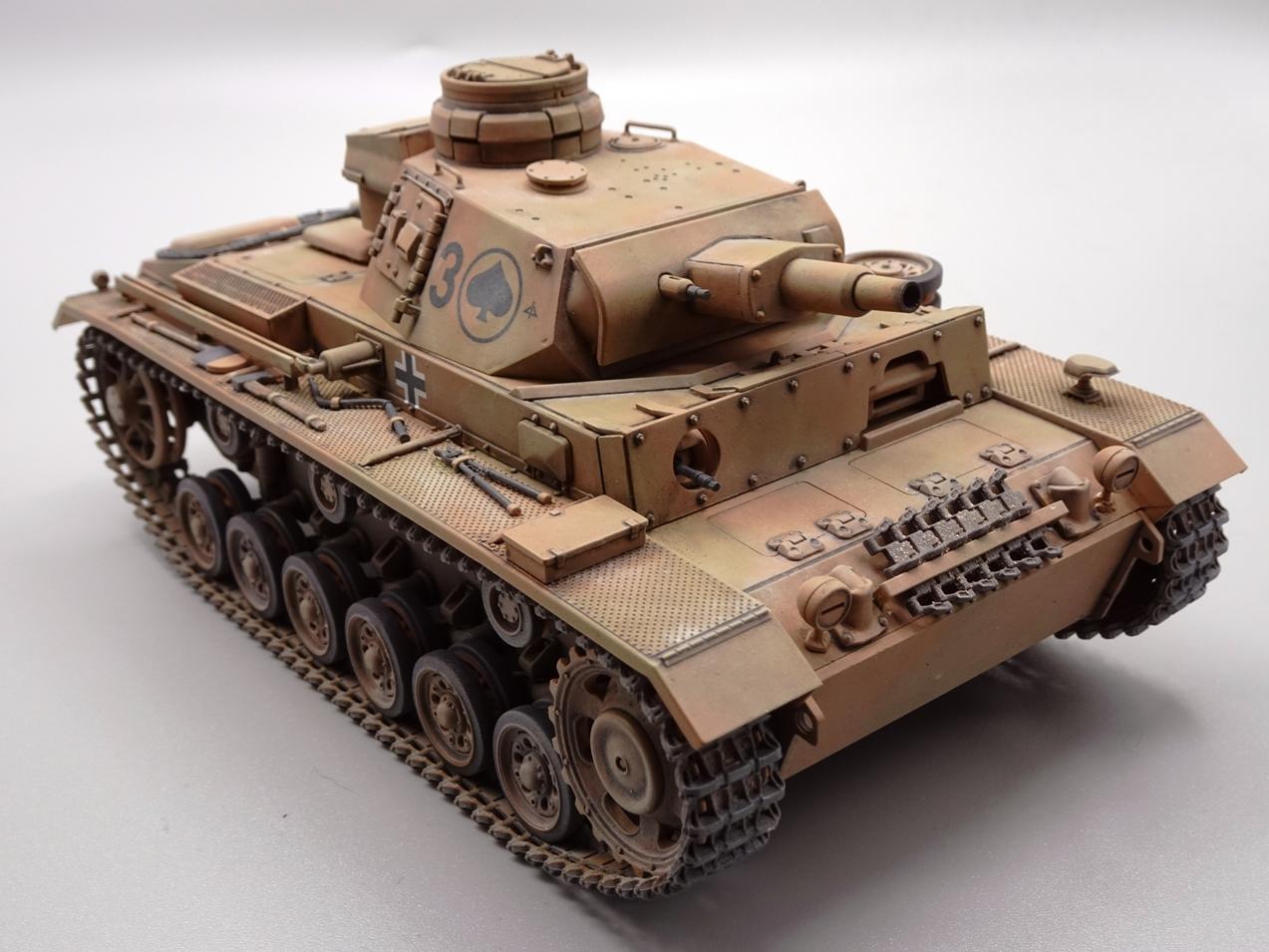 [Tamiya 1/35] Pz III Ausf.N (Sd.Kfz.141/2) réf. 35290 - Page 2 PZIII-fini-1