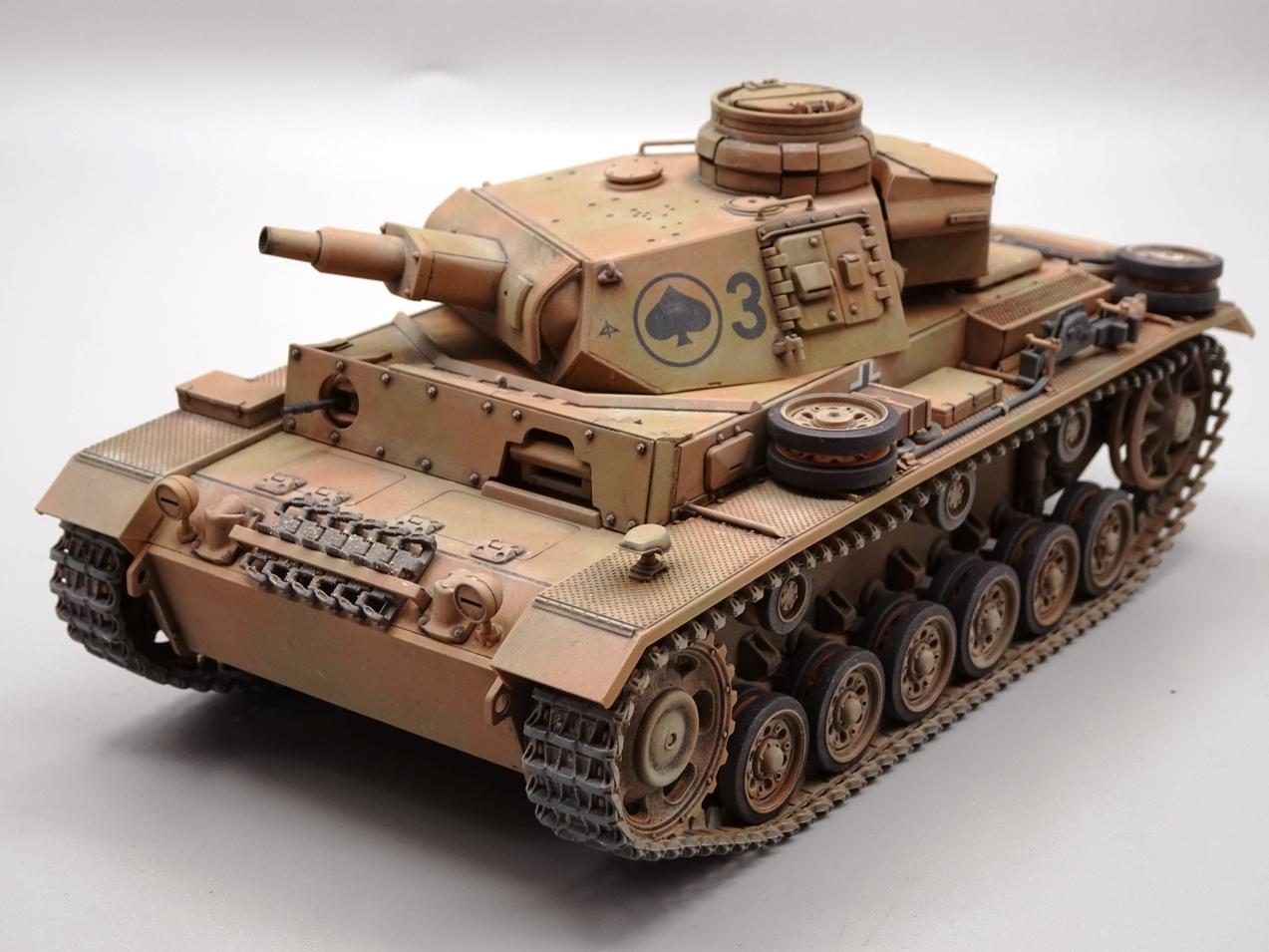 [Tamiya 1/35] Pz III Ausf.N (Sd.Kfz.141/2) réf. 35290 - Page 2 PZIII-fini-7