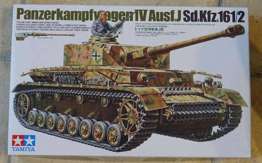 PzIV Ausf.J Tamiya 1/35° PzIV-0