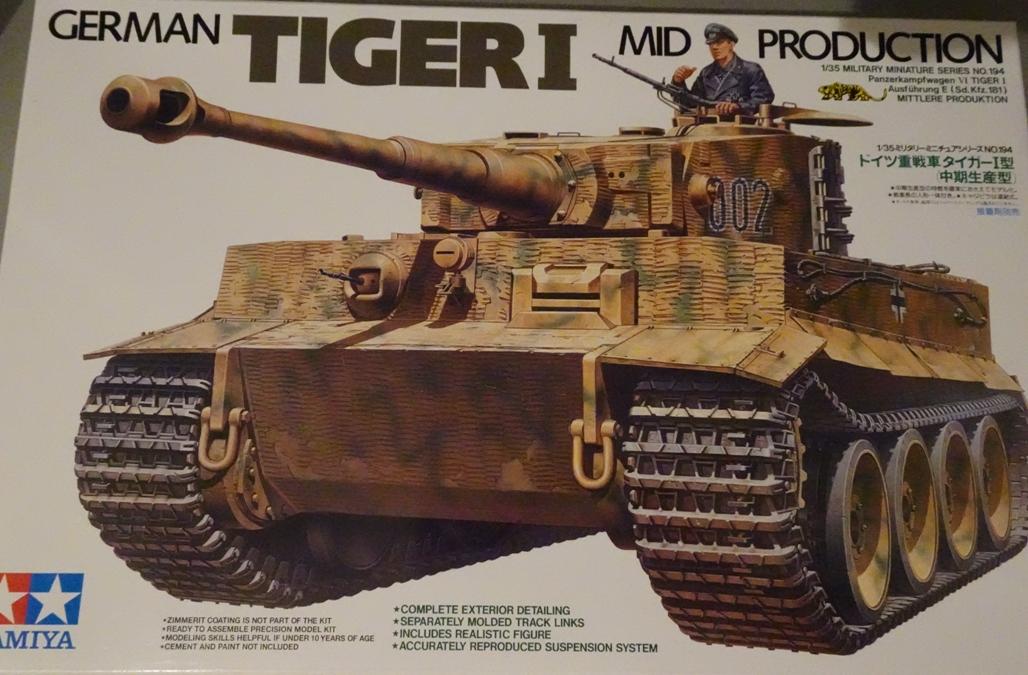 [Tamiya 1/35]  Tiger I mid production réf. 35194 Tigremid-box