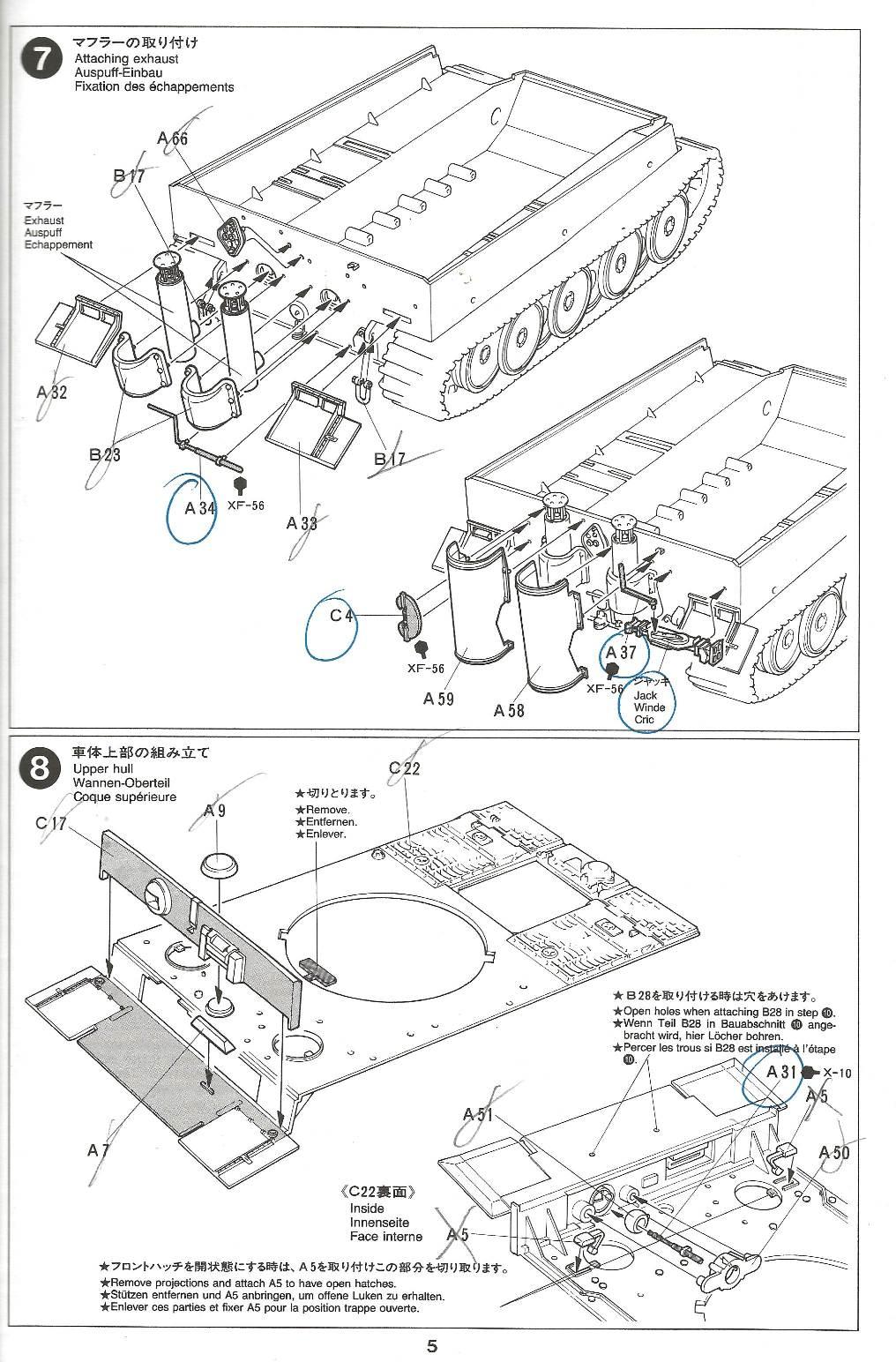 [Tamiya 1/35]  Tiger I mid production réf. 35194 Tigremid-plan-5