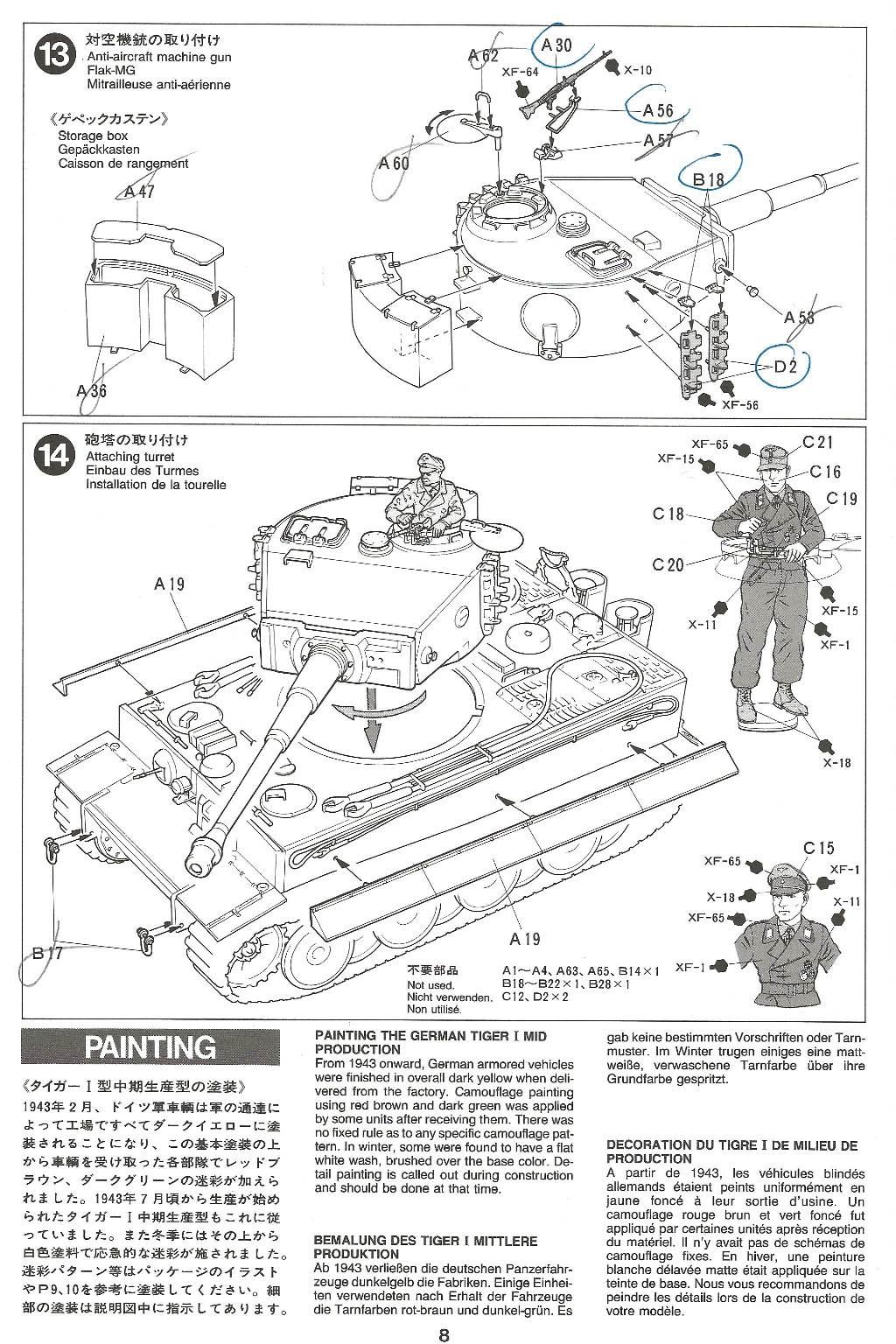 [Tamiya 1/35]  Tiger I mid production réf. 35194 Tigremid-plan-8