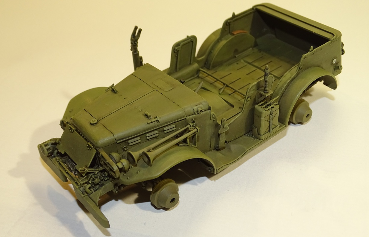 [AFV] DODGE 3/4 TON 4x4 WC57 / WC 56 PATTON 1/35ème Réf AF35S16 WC57-brush-1
