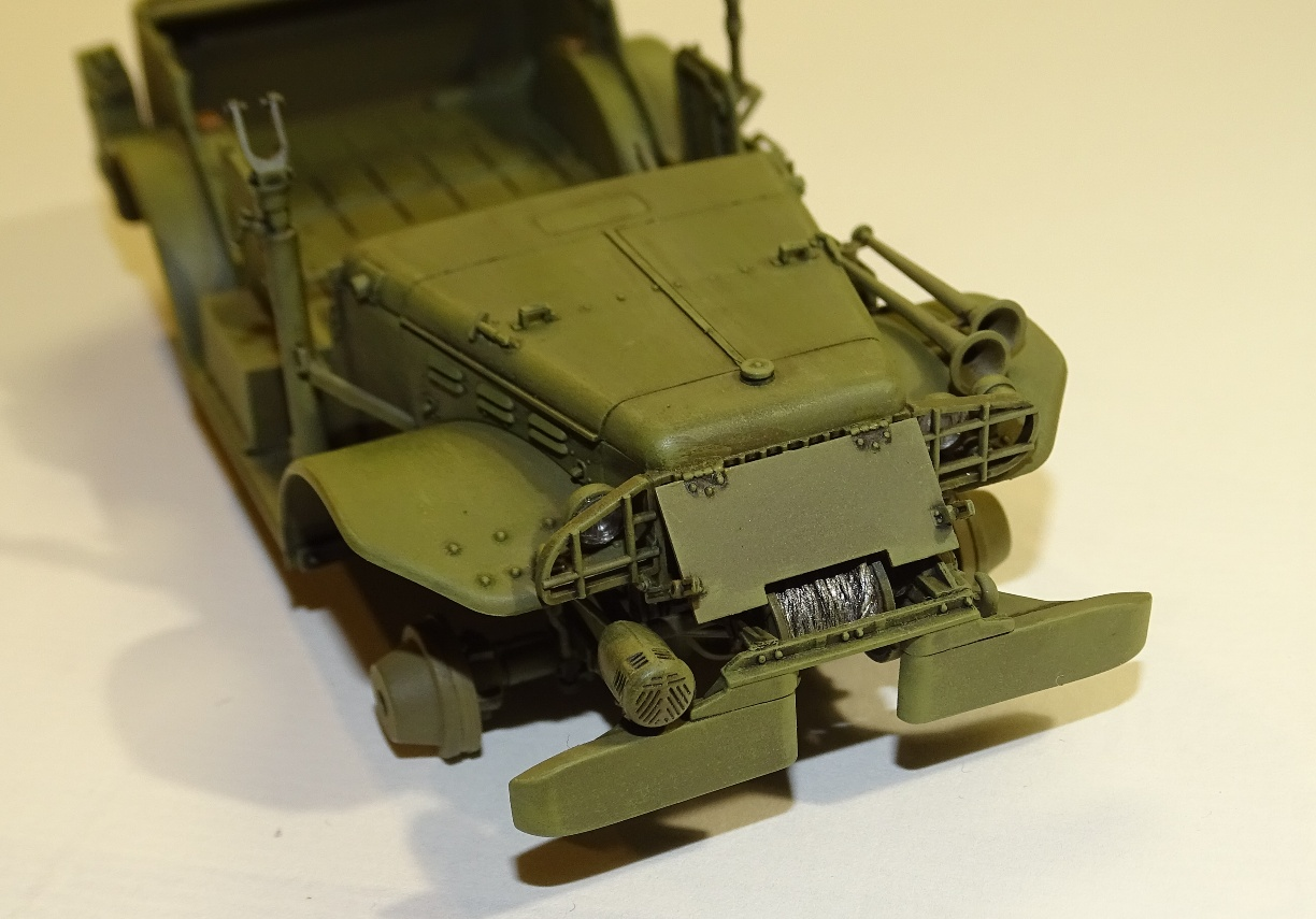 [AFV] DODGE 3/4 TON 4x4 WC57 / WC 56 PATTON 1/35ème Réf AF35S16 WC57-brush-2