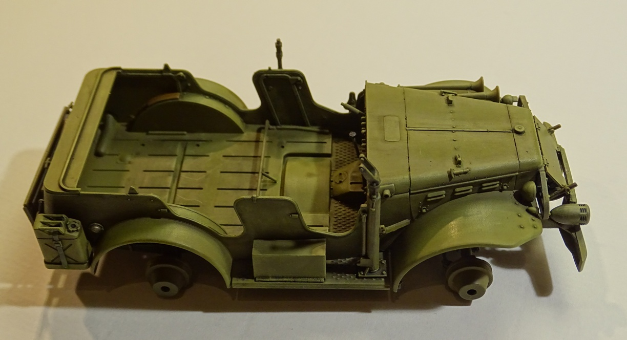[AFV] DODGE 3/4 TON 4x4 WC57 / WC 56 PATTON 1/35ème Réf AF35S16 WC57-brush-3