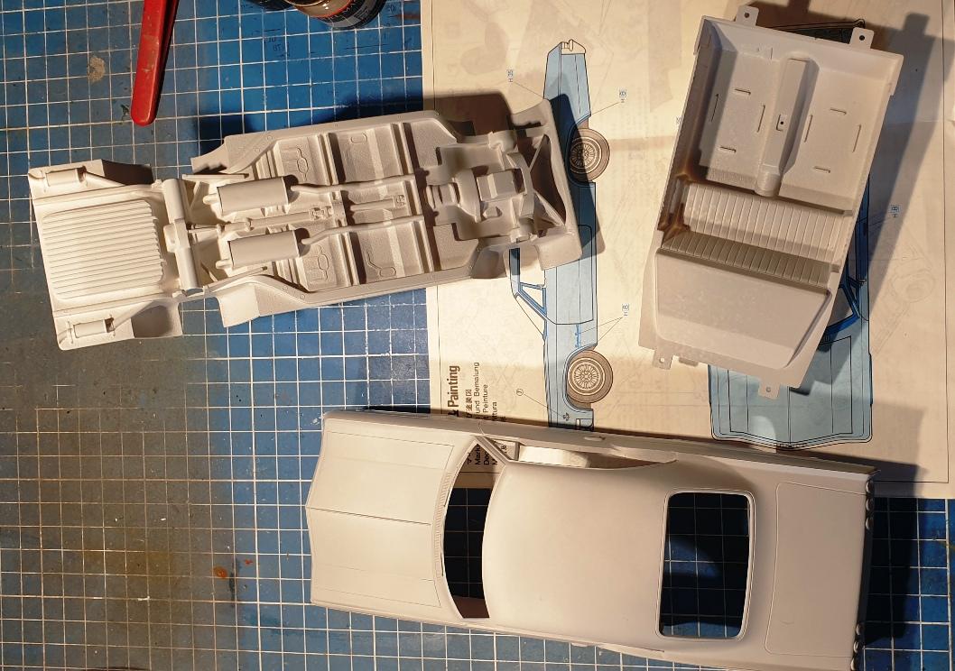 [Hasegawa 1/24] Chevrolet Impala (Série American 66) réf. CB-4 Impa-primer