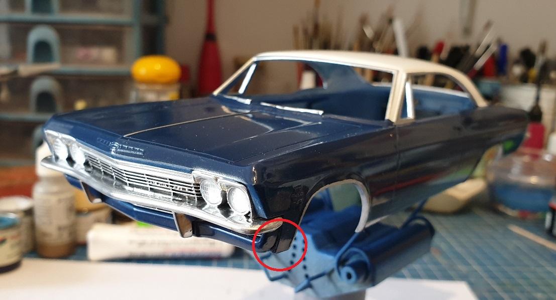 [Hasegawa 1/24] Chevrolet Impala (Série American 66) réf. CB-4 - Page 2 Impa-vernie