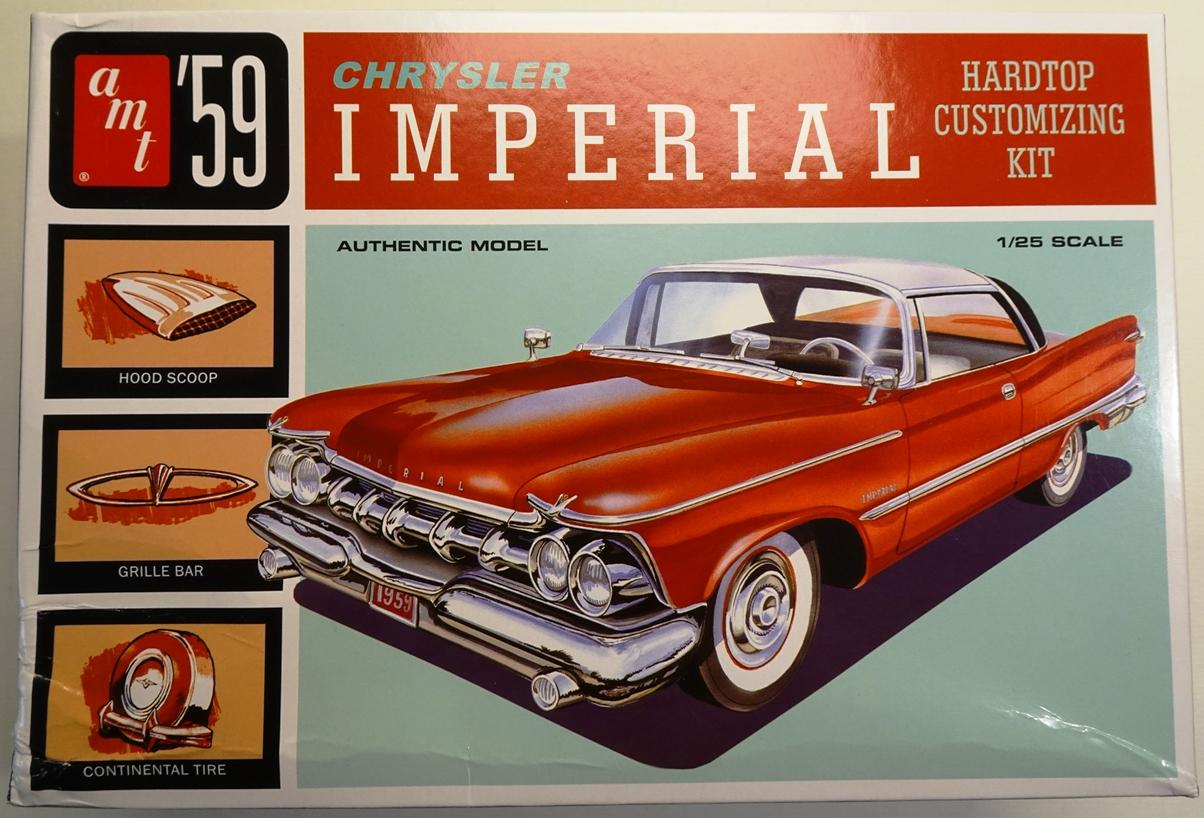 Chrysler Imperial 1959 - AMT réf.AMT1136/12 - 1/25 Imper-boite