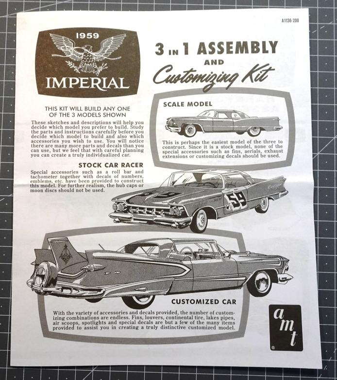 Chrysler Imperial 1959 - AMT réf.AMT1136/12 - 1/25 Imper-plan-1