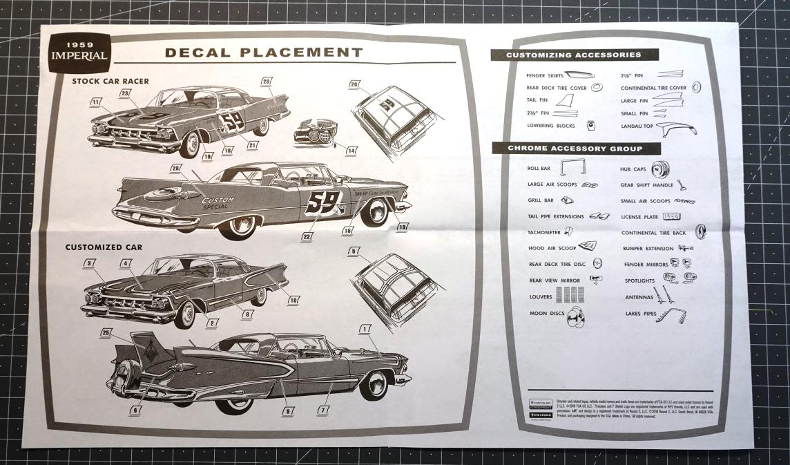 Chrysler Imperial 1959 - AMT réf.AMT1136/12 - 1/25 Imper-plan-3