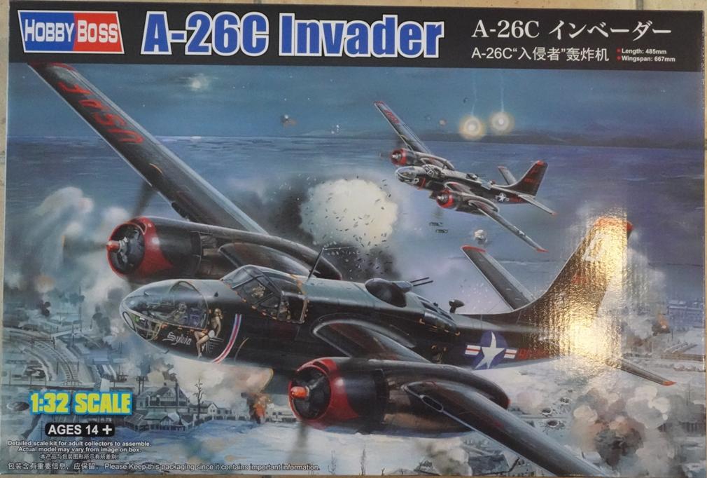[HobbyBoss 1/32] Douglas A-26C Invader A26-boxart